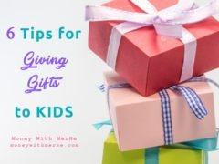 6 Tips for Giving Gifts to Kids